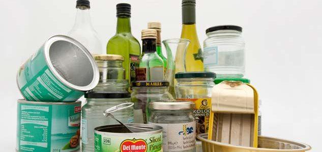 Status etter 1 måned med innsamling av glass- og metallemballasje: