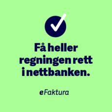 Opprett eFaktura – enklere blir det ikke