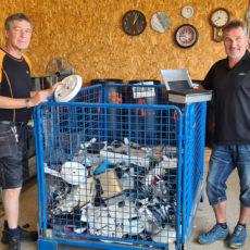 Drygt 550 tonn EE-avfall i året